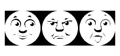 表情の異なる3タイプが付属。差し替えが可能。